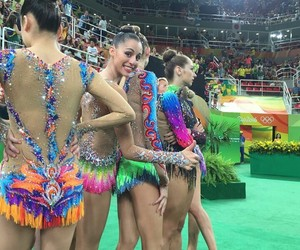 final, rhytmic gymnastic, and olympics image