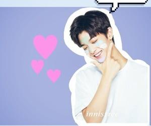 kpop edits, jinyoung, and kpop lockscreen image