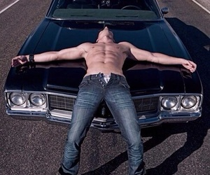 supernatural, Jensen Ackles, and Hot image