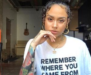 kehlani, Tattoos, and makeup image