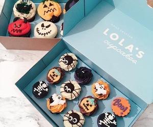 cupcakes, sugar, and food image