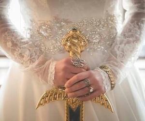 fantasy, sword, and dress image