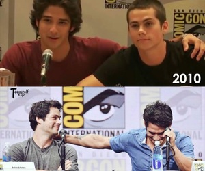 tyler posey, teenwolf, and dylan o'brien image