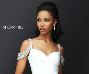 homecoming dress beads and sherri hill 50503 image
