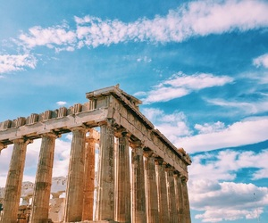 acropolis, adventure, and Athens image
