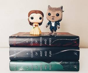 book, la bella y la bestia, and funko pops image