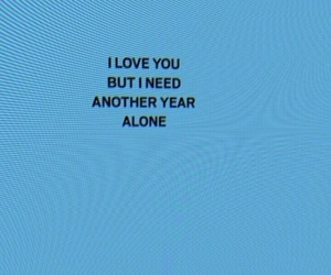 blue, header, and fuck love image