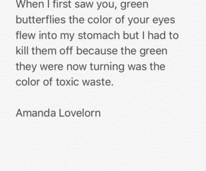 green eyes, original, and poetry image