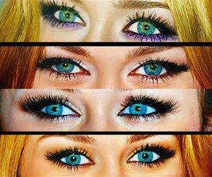 beautiful, blue eyes, and miley cyrus image