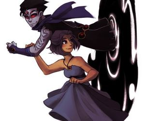 teen titans and robrae image