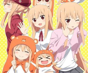 anime, kawaii, and umaru image
