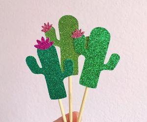 cactus, palillos, and fomy image