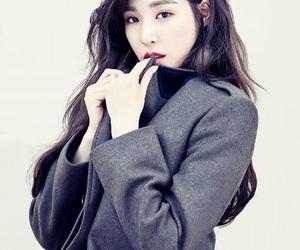 tiffany hwang, girls generation, and korean image