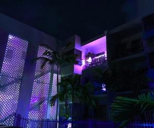 light, house, and night image