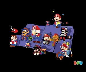 super mario, paper mario, and mario bross image