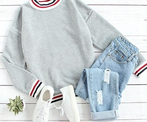 fashion, outfit, and shoes image