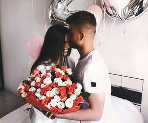 couple, goals, and roses image