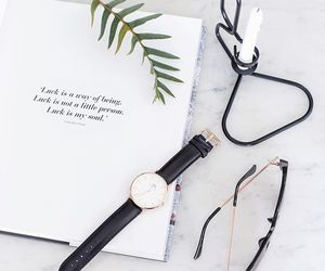 watch, white, and pretty image