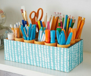 diy, pen, and pencil image