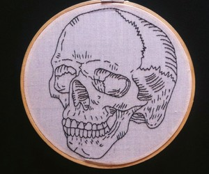 art, embroidery, and gothic image