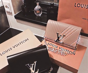 brands, Louis Vuitton, and shopping image