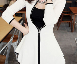 blouse, cardigan, and dresses image