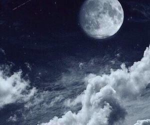 cosmos, dark, and night image
