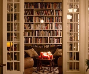 book, home, and candle image