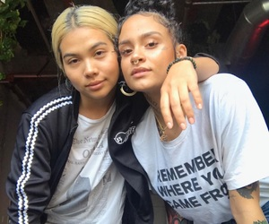 kehlani, girl, and hayley kiyoko image
