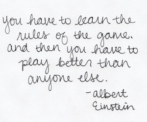 Albert Einstein, quote, and quotes image