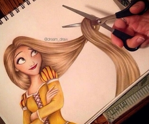 3d, disegno, and rapunzel image