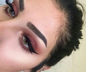 girl, makeup, and goals image
