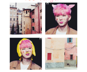 asian boy, kpop, and pink image