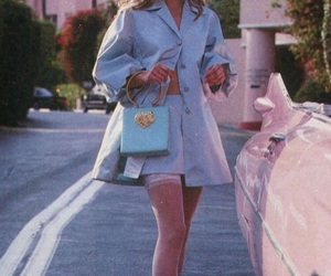 model, 90s, and fashion image