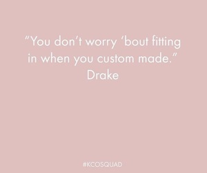 confidence, custom, and Drake image