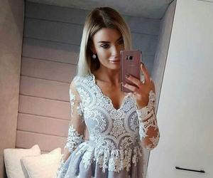 dresses, fashion dress for woman, and evening dress image