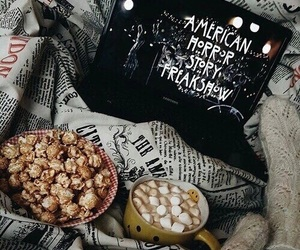 american horror story, ahs, and bed image