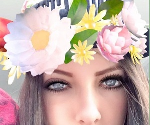 blueeyes, flores, and snap image