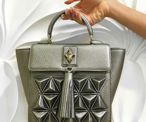 bags, silver, and fashion image