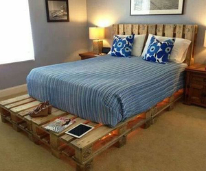 bed, diy, and room image