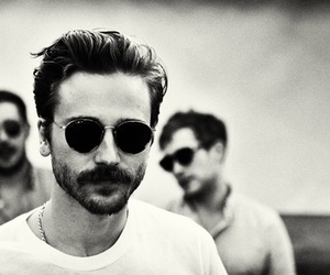 black and white, musician, and portugal the man image