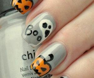 Halloween, halloween nails art, and halloween nails image