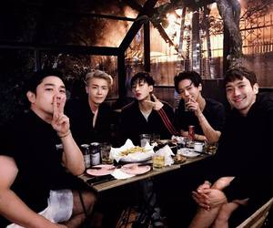 donghae, eunhyuk, and kangin image