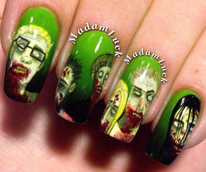 halloween nails, halloween nails designs, and Halloween image