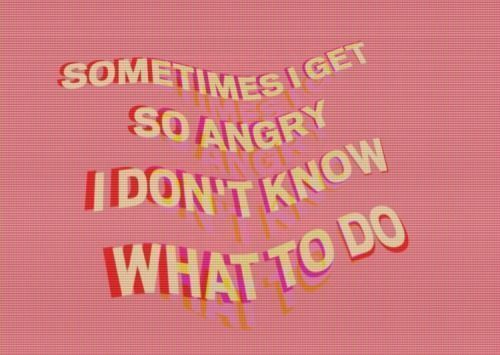 quotes, angry, and pink image