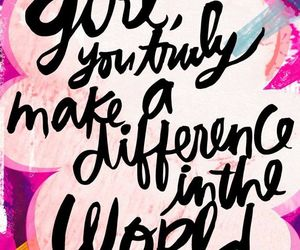 pink, quotes, and girl image