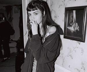 grunge and black image