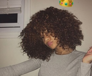 curly and melanin image