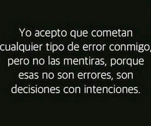 error, frases, and mentiras image