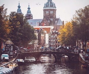 amsterdam, autumn, and fall aesthetic image